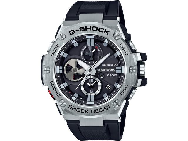 CASIO G-SHOCK GST-B100-1AER Watch Men, black silver/white black
